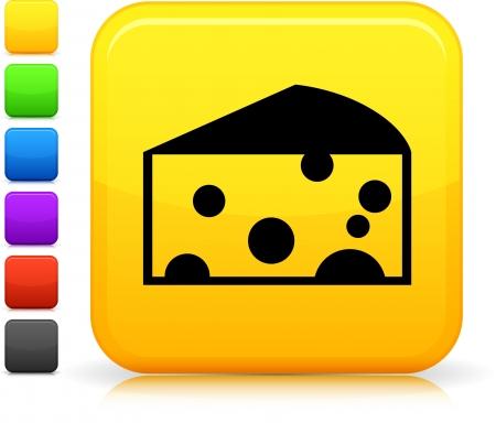 Cheese icon Ilustrace