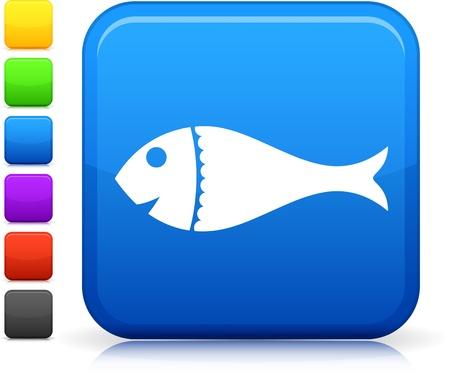 Fish icon Stock fotó - 20483421