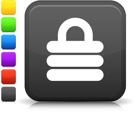 security lock: Security Lock icon Illustration
