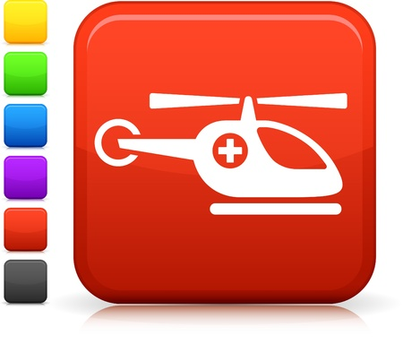 medevac: Medical helicopter icon