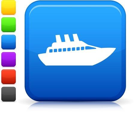 Yacht icon Stock Vector - 20476349