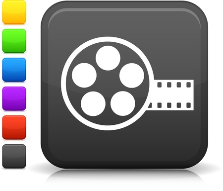 Film Reel icon Stock Vector - 20477907