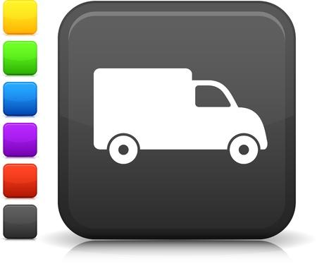 Van levering icoon Stock Illustratie
