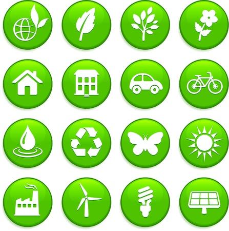 environment elements icon set Stock fotó - 20477148