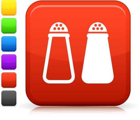 Salt Shaker icon Vector