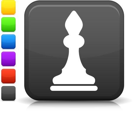chess bishop icon Ilustrace