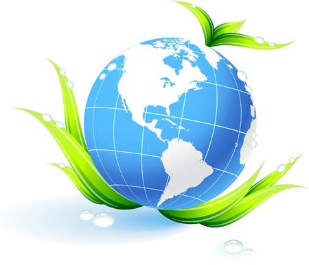 Globes with lead Original Vector Illustration Globes and Maps Ideal for Business Concepts