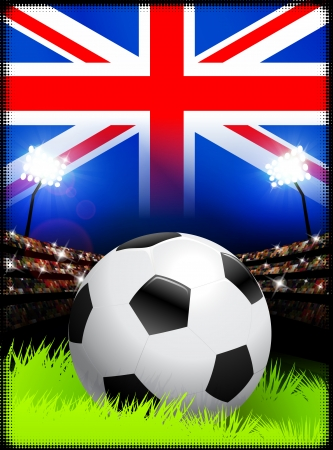 United Kingdom Soccer Match in Stadium