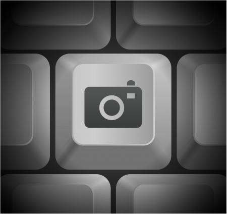 컴퓨터 키보드에서 카메라 아이콘을 원래 그림