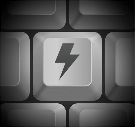 lightening: Aligerar el icono en el teclado de PC Ilustraci?n original