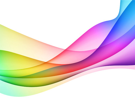 rainbow abstract: Abstract Wave Internet Background