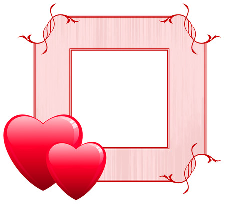 couple lit: Valentines Day Love Frame