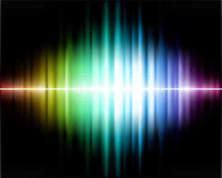 rainbow background: Abstract Spectrum Background