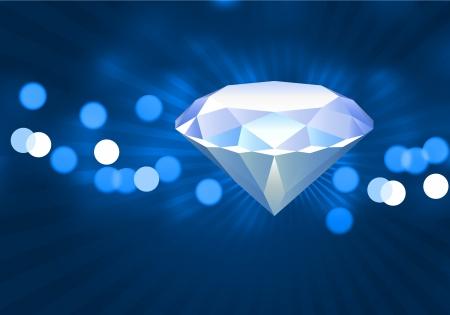 Diamond Original Vector Illustration