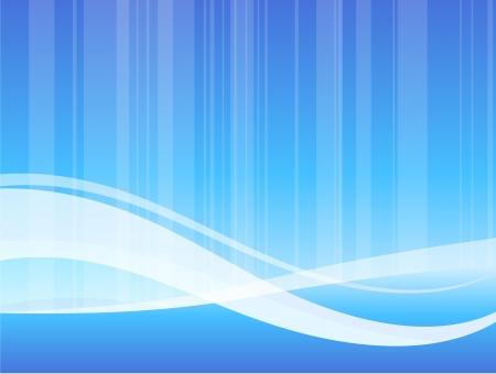 Original Vector Illustration: blue wave pattern internet background AI8 compatible Иллюстрация