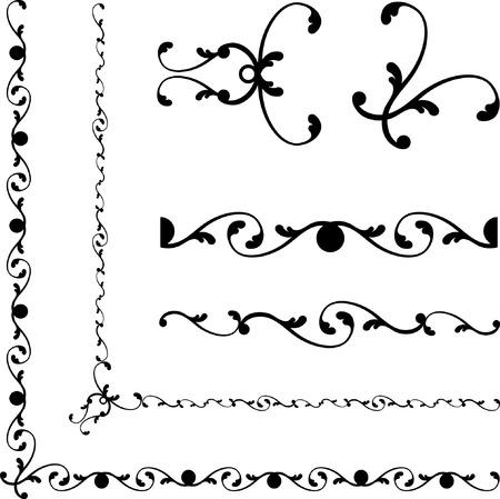 黒と白の抽象的な背景 オリジナルのベクター イラスト 抽象的な背景の黒と白のデザイン パターン理想