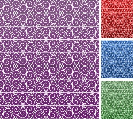 compatible: Original Vector Illustration: floral background AI8 compatible Illustration