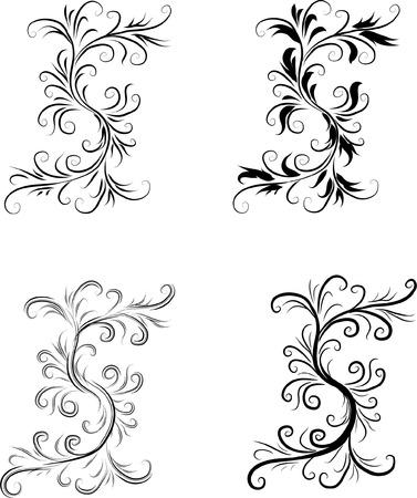 黒と白の抽象的な背景 元のベクトル図 黒と白のデザイン パターンに最適抽象的な背景