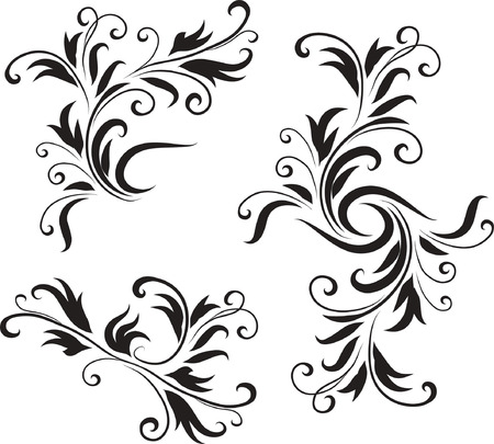 Abstract Black and White Design Pattern Original Vector IllustrationBlack and White Design Pattern Ideal for Abstract Background