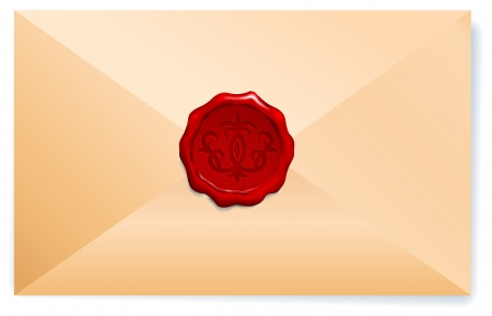 Royal Wax Seal  Original Vector Illustration  Vector