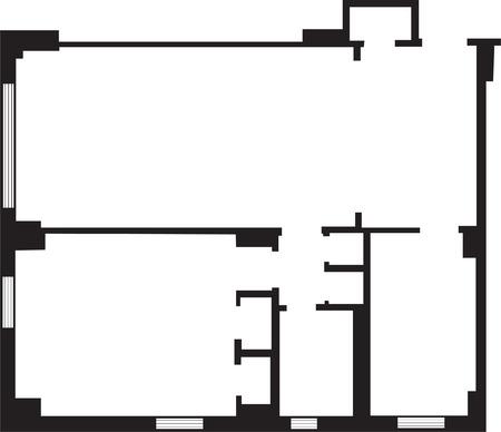 Building Plans Original Vector Illustration Иллюстрация