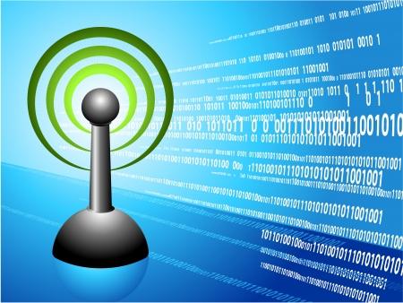 Wireless internet modern Background Original Vector Illustration Ideal for internet concepts