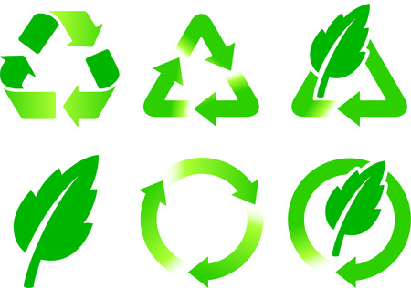 Nature Icons Original Vector Illustration Green Nature Concept