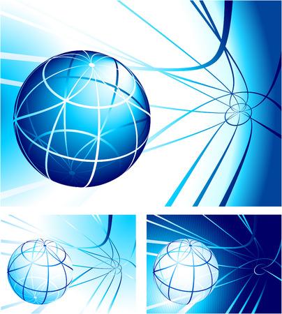 Globe Set Original Vector Illustration Globe Set Ideal for Business concept