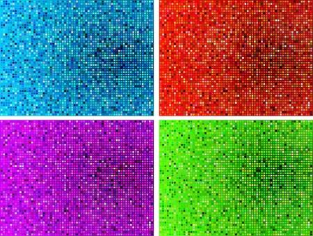 compatible: Original Vector Illustration: Simple mosaic tile pattern internet background AI8 compatible