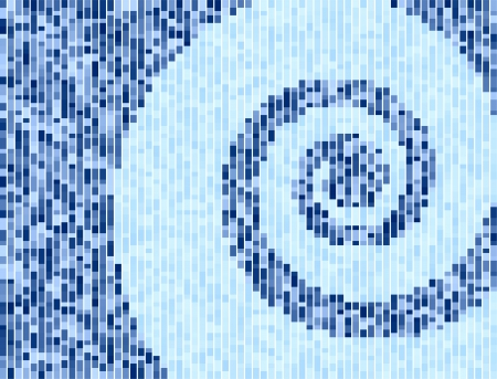 Original Vector Illustration: swirl square pattern internet background AI8 compatible Illusztráció