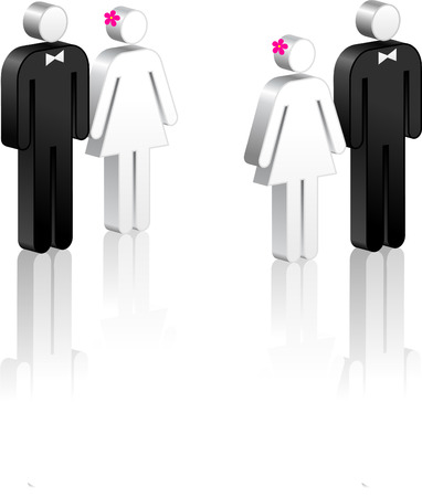 Stick Figure Couples