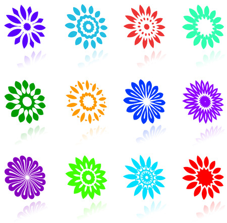 beuty: Original vector illustration:  floral design collection