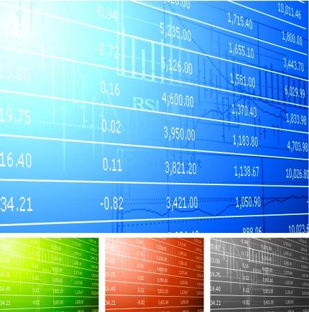 Original Vector Illustration: Stock market background AI8 compatible