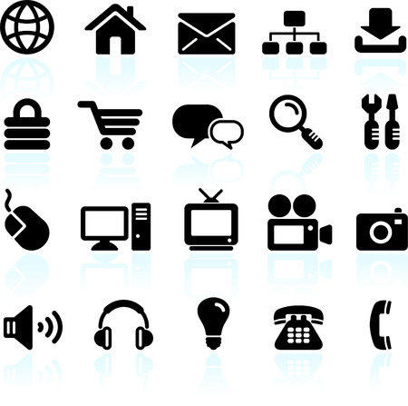 Original vector illustration: internet design icon set Stock Vector - 22419698