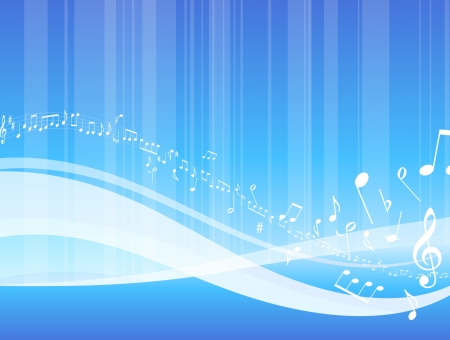 Abstract musical background Original Vector Illustration Musical Notes Background Ideal for Music Concepts