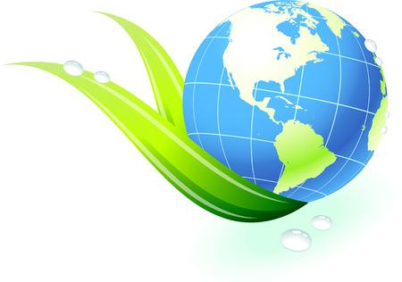 Globes with leadOriginal Vector IllustrationGlobes and Maps Ideal for Business Concepts Illusztráció