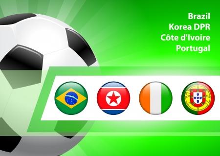 Global Soccer Event Group GOriginal Illustration