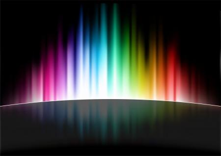 Abstract Spectrum Background Original Illustration
