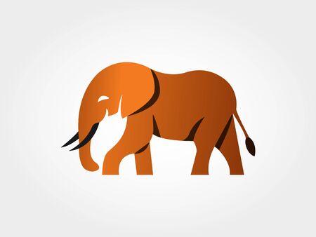 Golden Elephant Icon