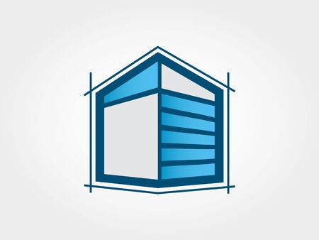Elite Architecture Icon 向量圖像