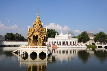 bang pa in: bang pa in palace Stock Photo