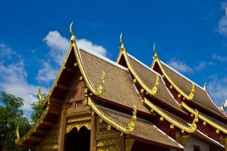 Thailand, Chiang Mai, Phra Singh Temple  Wat Phra Singh