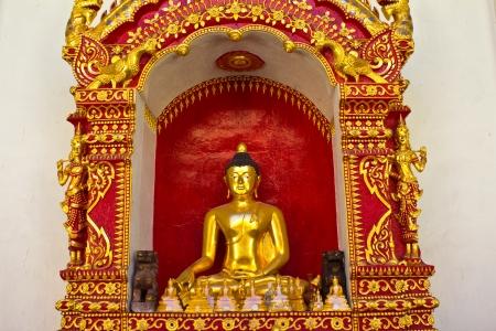 Buddha at Wat Phra Singh  Chiang Mai, Thailand