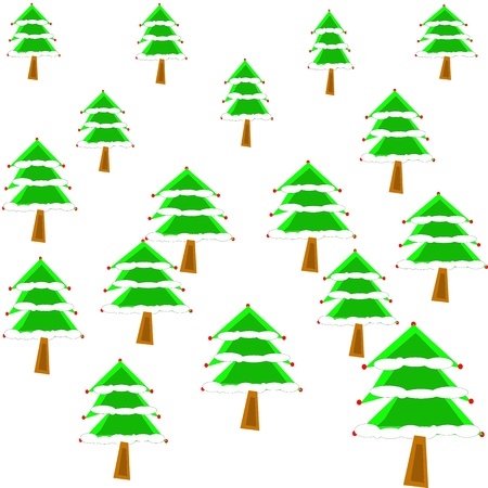 Christmas Tree Stock Vector - 16697339