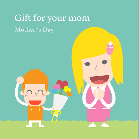 Gift for your mom Illustration