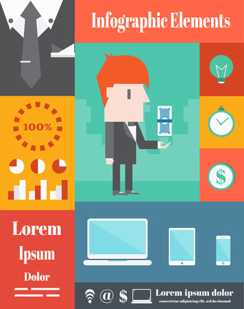 Business,Vector Infographic Elements Vector