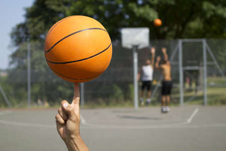 Basketball Spinning photo