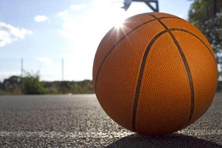 playground basketball: Basketball