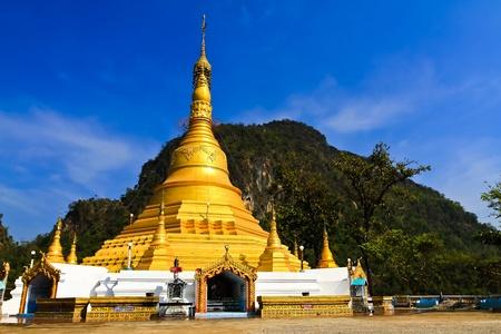 와트 사오 투자 수익 (ROI) 톤의 황금 불탑. 미얀마