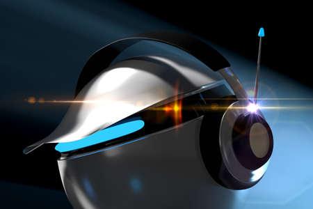 club dj: Club DJ listen to music Stock Photo
